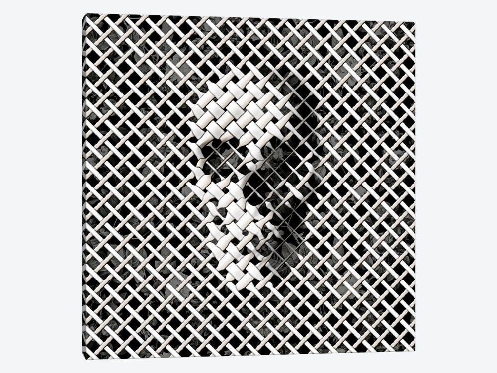 Wicker, Square by Ali Gulec 1-piece Canvas Print