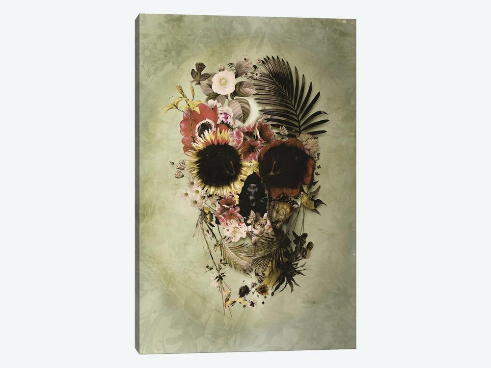 Garden Skull Light by Ali Gulec 1-piece Canvas Print
