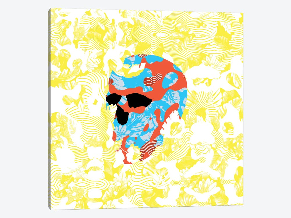 Country Skull by Ali Gulec 1-piece Canvas Art