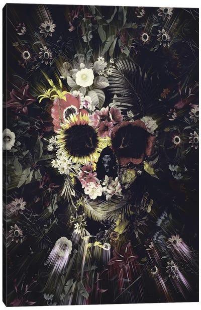 Garden Skull Canvas Art Print