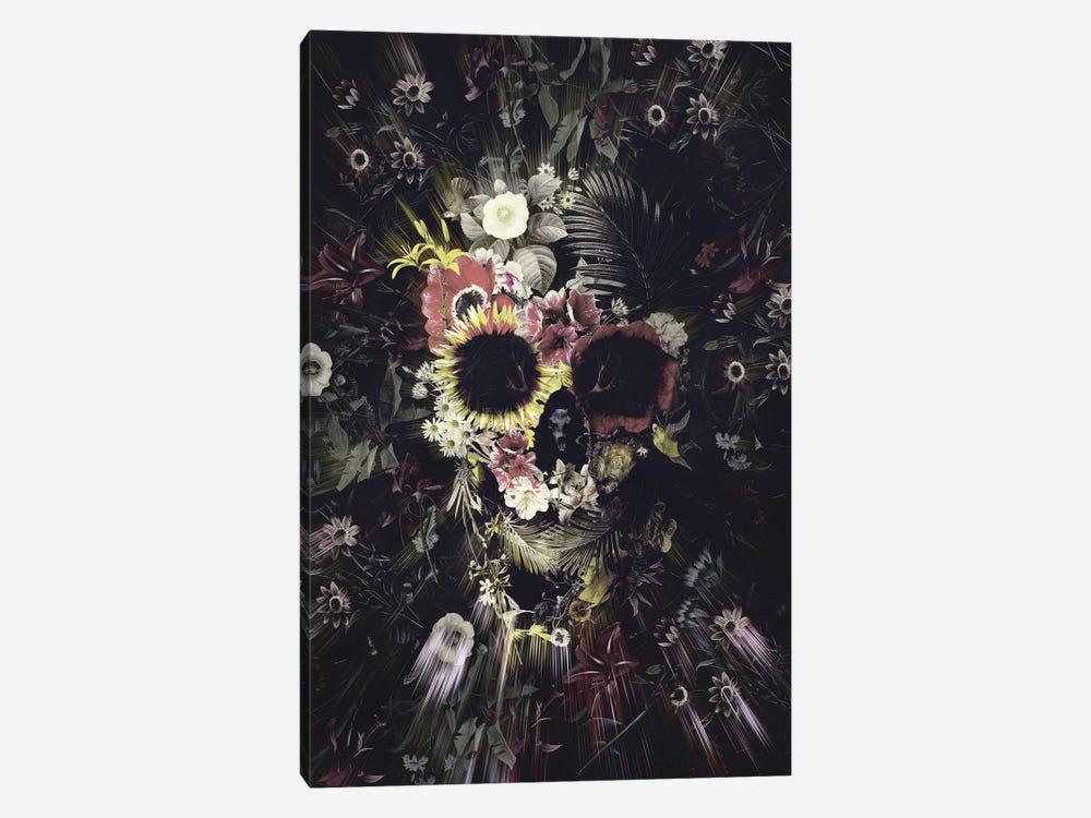 Garden Skull by Ali Gulec 1-piece Canvas Wall Art