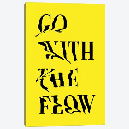 Go With The Flow Canvas Print #AGC122} by Ali Gulec Canvas Print