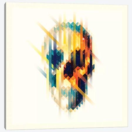 Lava Skull Canvas Print #AGC124} by Ali Gulec Canvas Wall Art