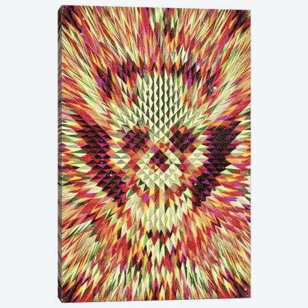 Geo Skull Canvas Print #AGC12} by Ali Gulec Canvas Art