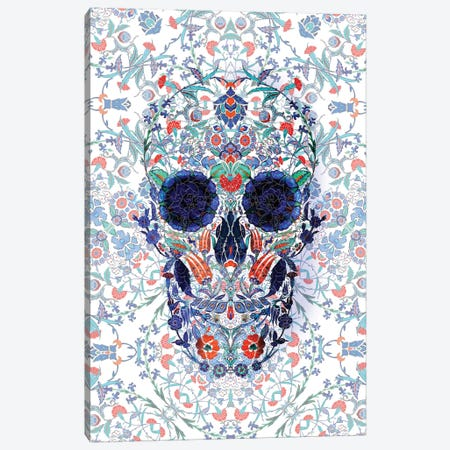 Chini Skull Portrait Canvas Print #AGC131} by Ali Gulec Canvas Art