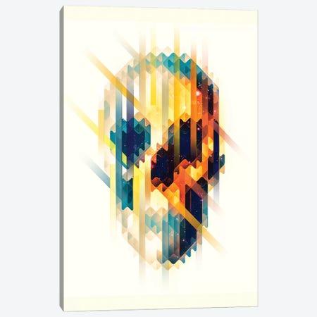 Lava Skull Portrait Canvas Print #AGC132} by Ali Gulec Canvas Art