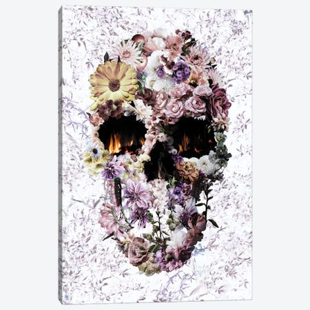 Upland Skull 3-Piece Canvas #AGC134} by Ali Gulec Canvas Print