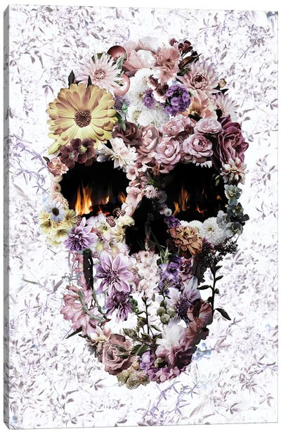 Upland Skull Canvas Art Print