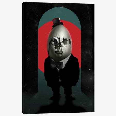 Humpty Dumpty Canvas Print #AGC16} by Ali Gulec Canvas Print