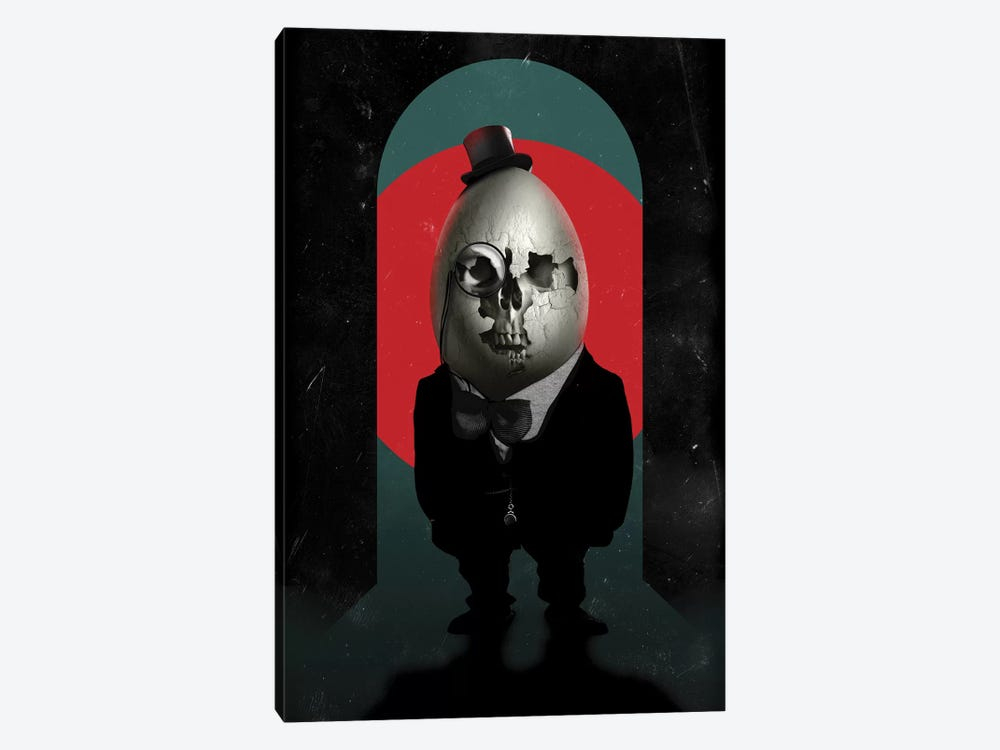 Humpty Dumpty by Ali Gulec 1-piece Art Print