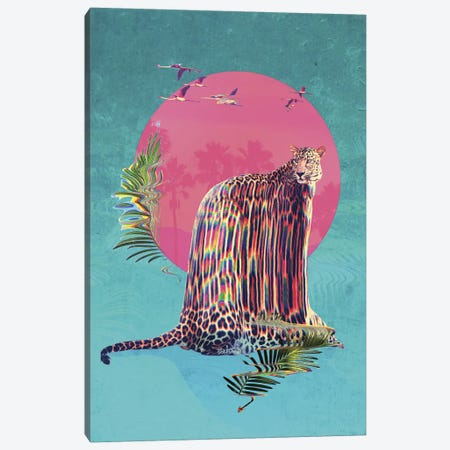 Jaguar Canvas Print #AGC17} by Ali Gulec Canvas Art Print