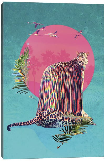 Jaguar Canvas Art Print