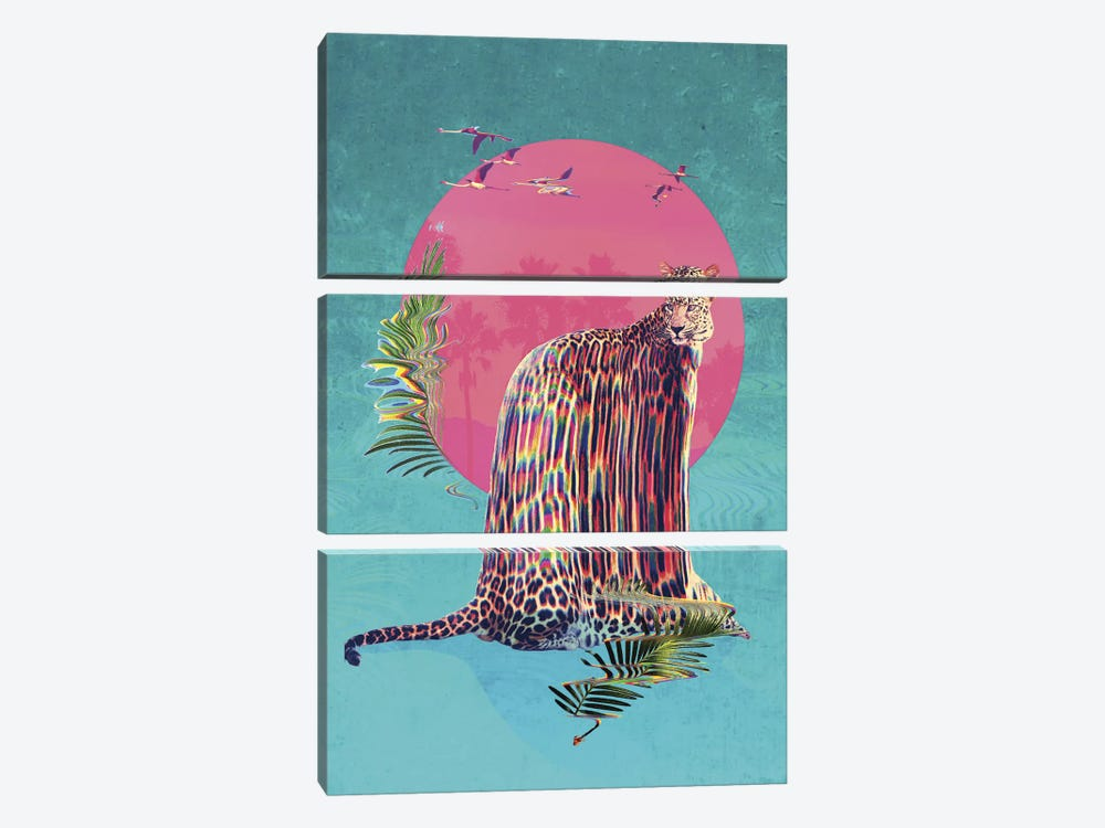Jaguar by Ali Gulec 3-piece Canvas Artwork