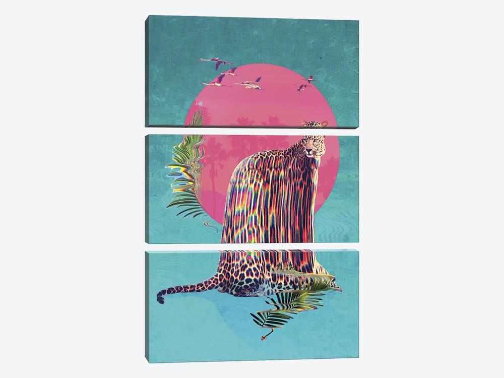 Jaguar by Ali Gulec 3-piece Canvas Artwork