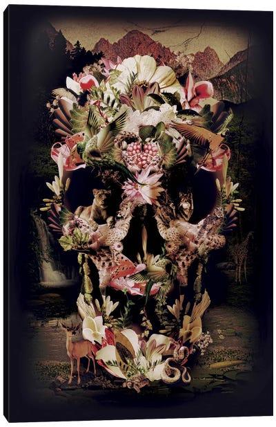 Jungle Skull Canvas Art Print