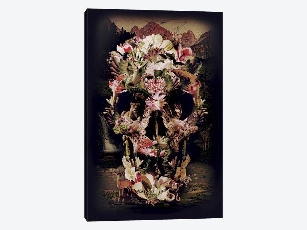 Jungle Skull by Ali Gulec 1-piece Canvas Print
