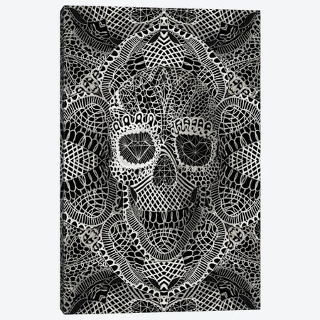 Lace Skull Canvas Print #AGC20} by Ali Gulec Canvas Art Print