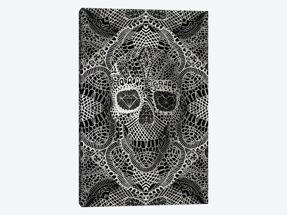 Lace Skull by Ali Gulec 1-piece Canvas Artwork