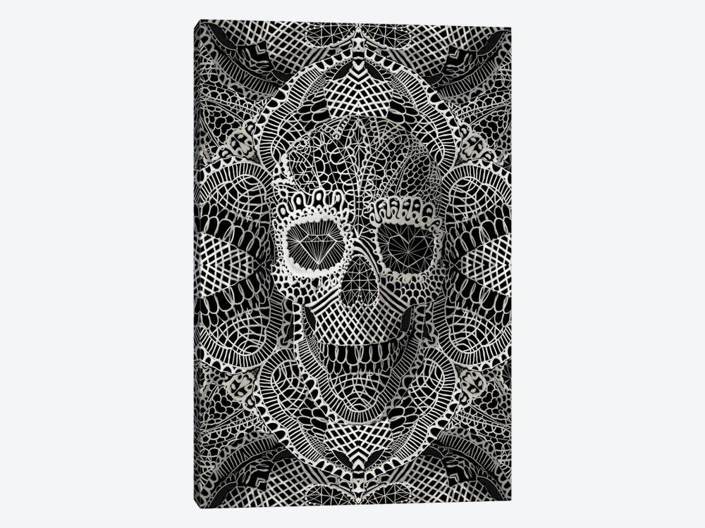 Lace Skull by Ali Gulec 1-piece Canvas Artwork
