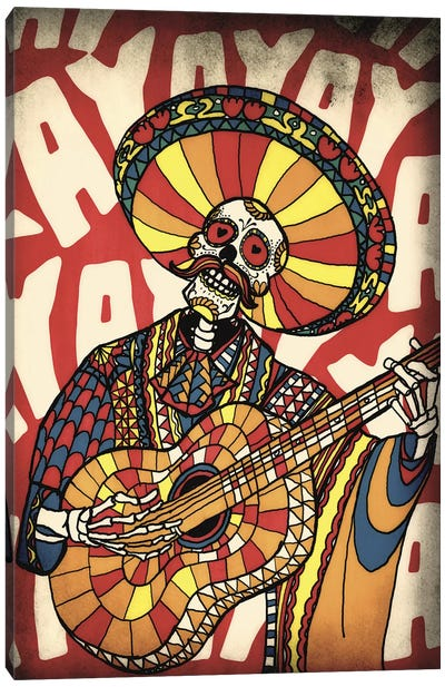 Mariachi Canvas Art Print
