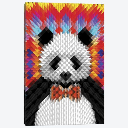 Panda Canvas Print #AGC27} by Ali Gulec Canvas Artwork