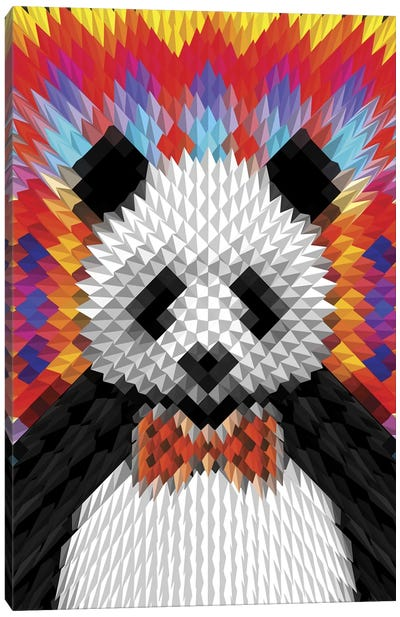 Panda Canvas Art Print