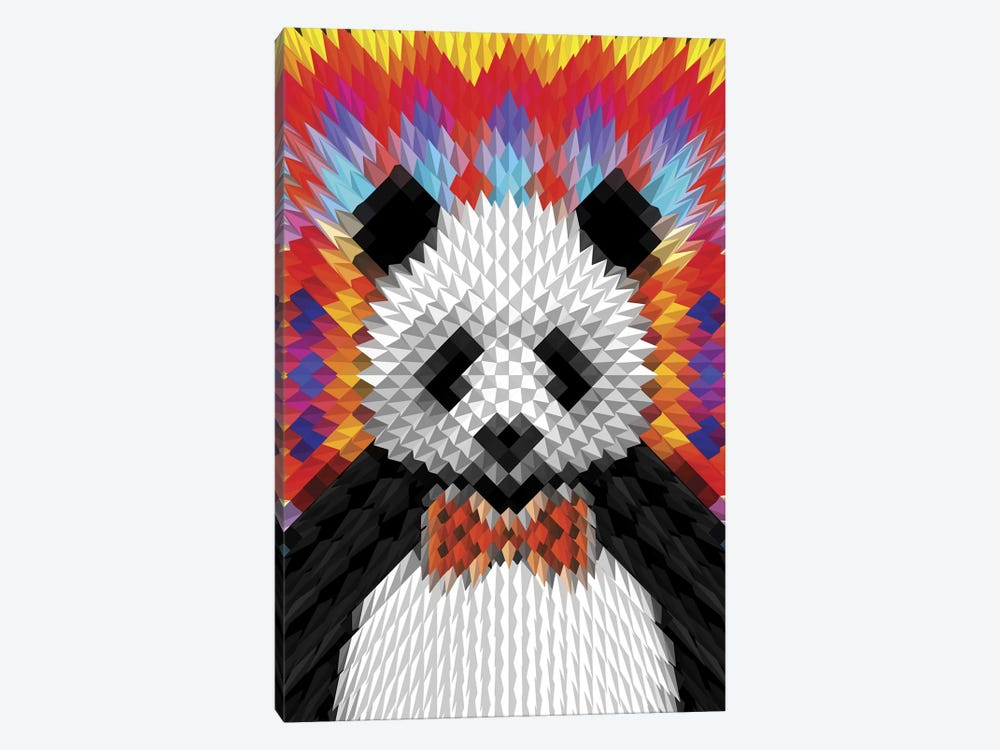 Panda by Ali Gulec 1-piece Canvas Print