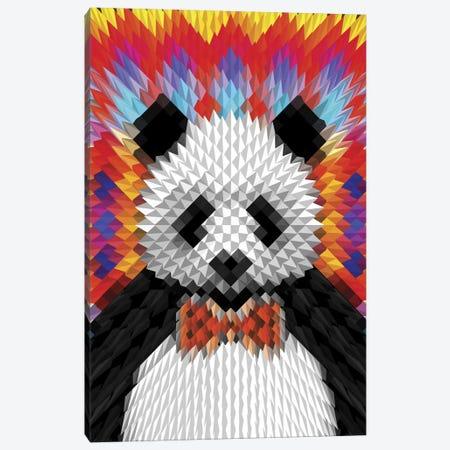Panda Canvas Print #AGC27} by Ali Gulec Canvas Artwork
