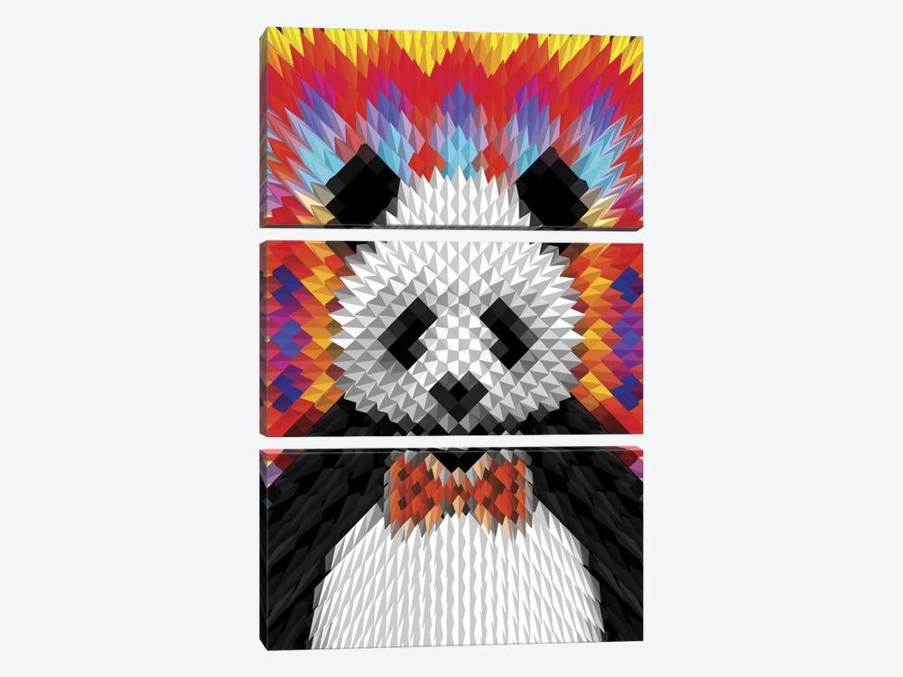 Panda by Ali Gulec 3-piece Art Print