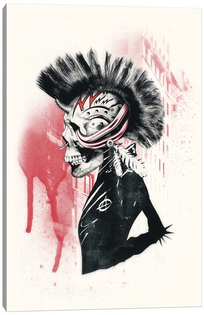 Punk Canvas Art Print