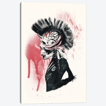 Punk 3-Piece Canvas #AGC28} by Ali Gulec Canvas Art Print