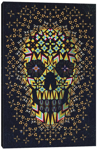Skull #6 Canvas Art Print
