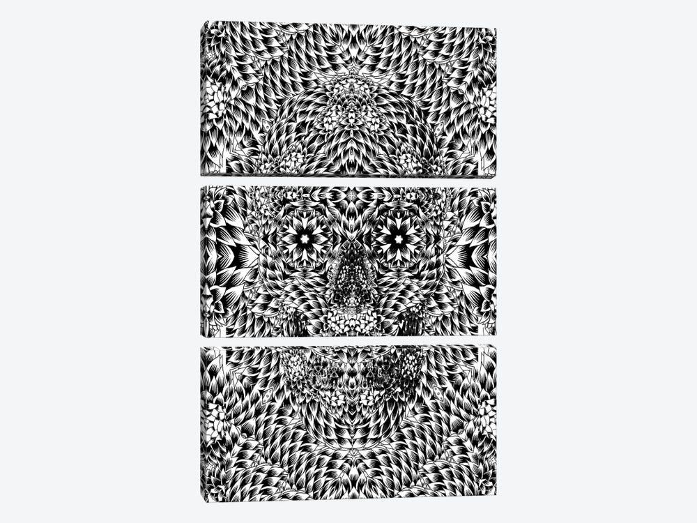 Skull VII by Ali Gulec 3-piece Art Print