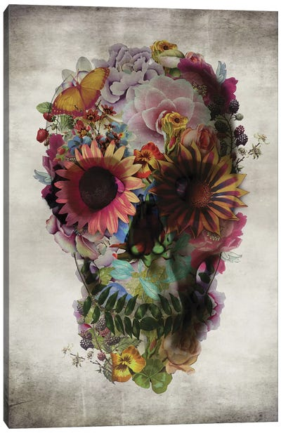 Skull #2 Canvas Art Print