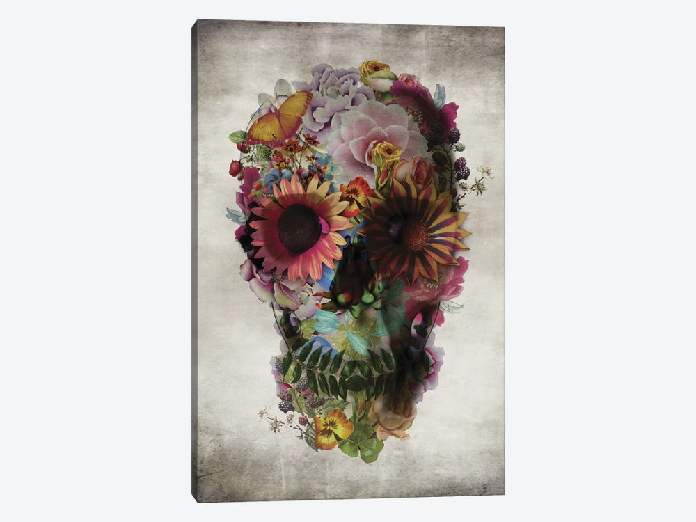 Skull #2 by Ali Gulec 1-piece Canvas Art