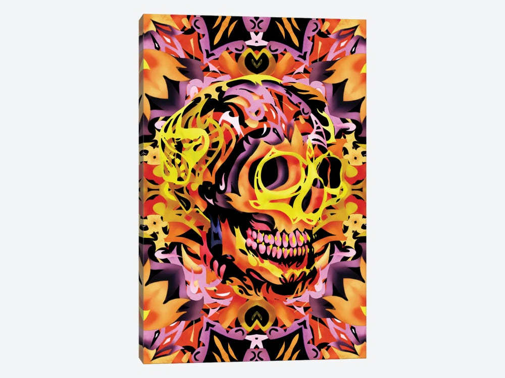 Skull V by Ali Gulec 1-piece Canvas Wall Art