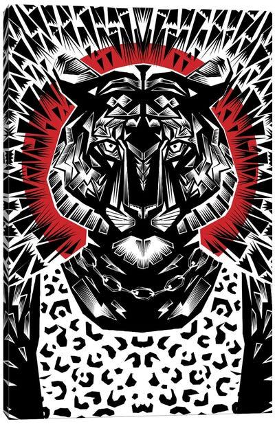 Tiger #2 Canvas Art Print