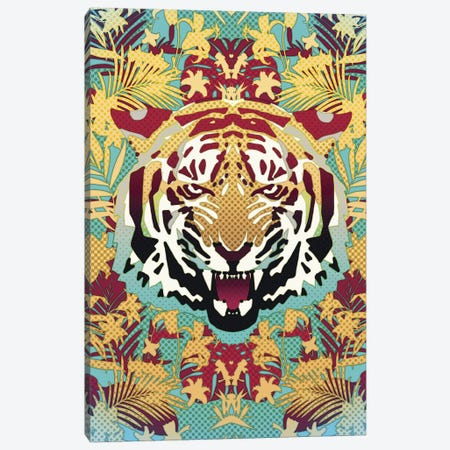Tiger Canvas Print #AGC38} by Ali Gulec Canvas Art