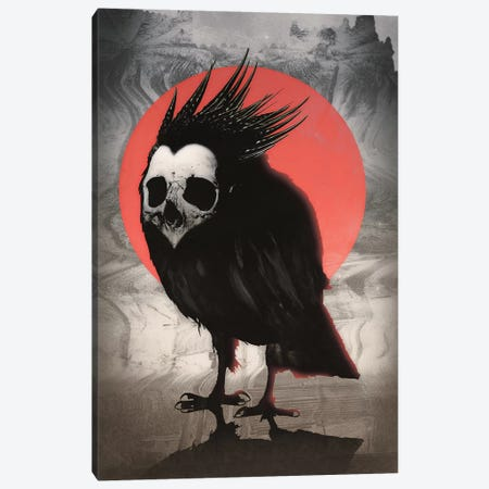 Birdie Canvas Print #AGC43} by Ali Gulec Canvas Print