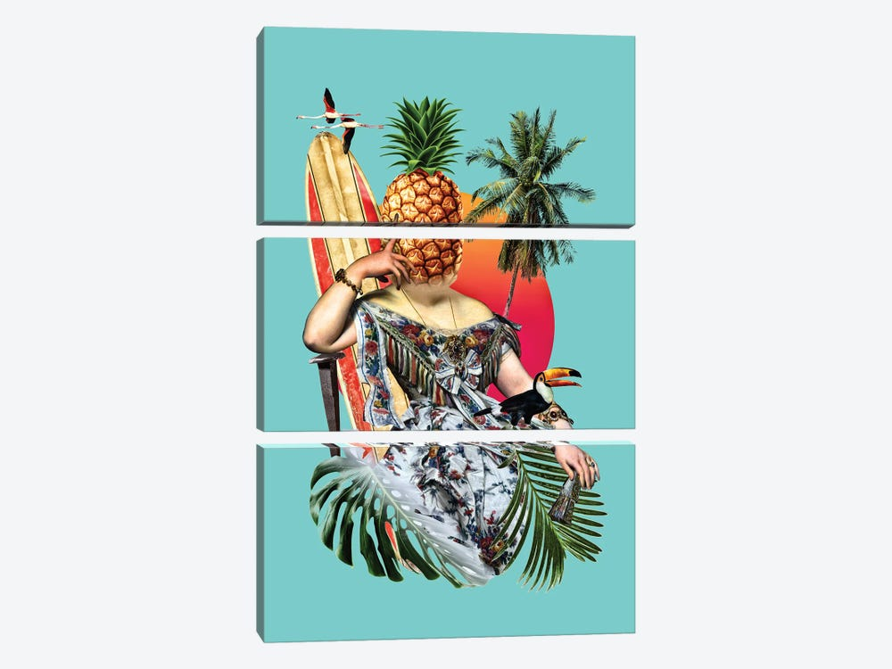 Chillax 3-piece Art Print