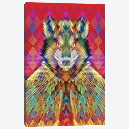 Corporate Wolf Canvas Print #AGC4} by Ali Gulec Art Print