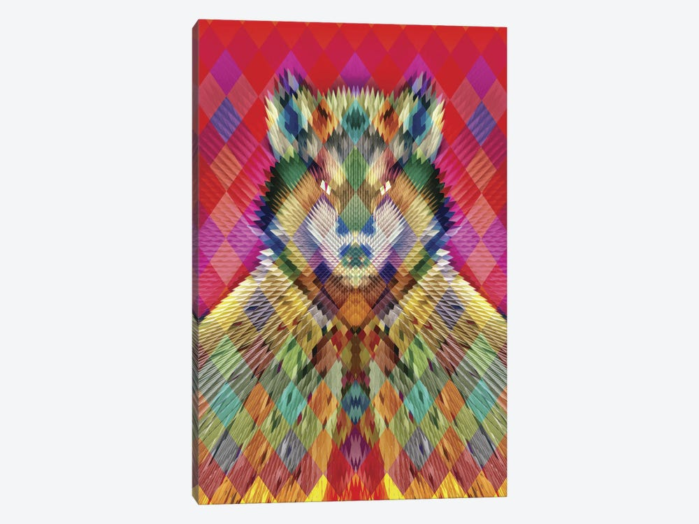 Corporate Wolf by Ali Gulec 1-piece Art Print