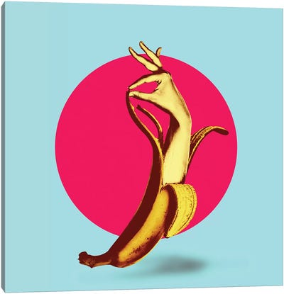 El Banana Canvas Art Print