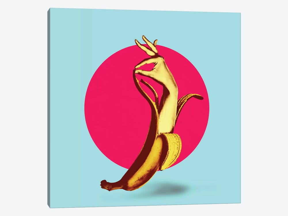 El Banana by Ali Gulec 1-piece Canvas Artwork