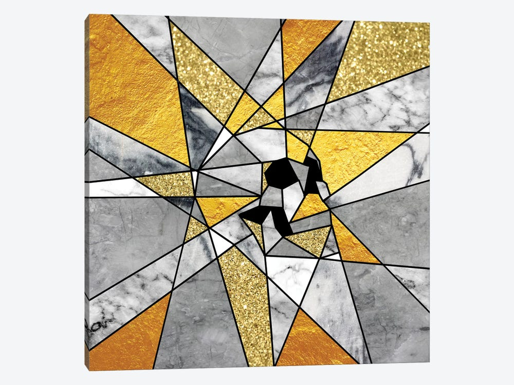 Fragment, Square by Ali Gulec 1-piece Canvas Art Print