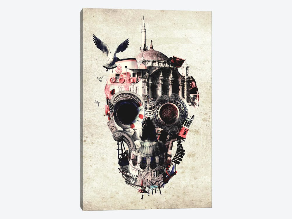 Istanbul Skull I 1-piece Canvas Print
