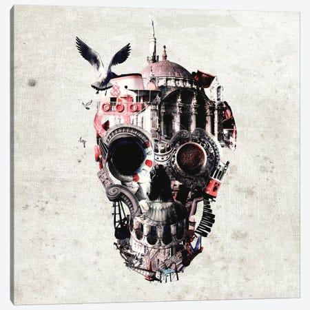 Istanbul Skull I, Square Canvas Print #AGC64} by Ali Gulec Canvas Wall Art