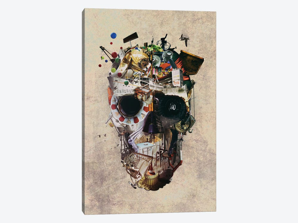 Istanbul Skull II by Ali Gulec 1-piece Art Print