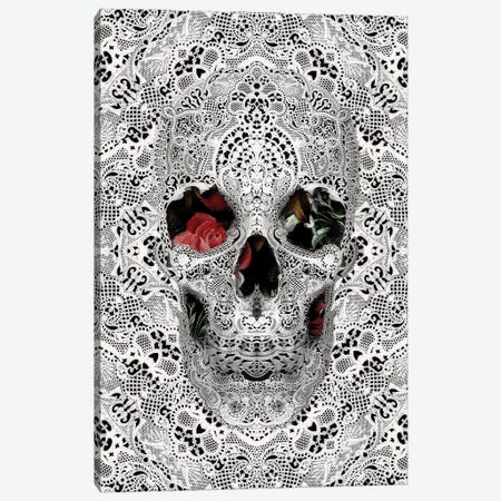 Lace Skull II Canvas Print #AGC66} by Ali Gulec Canvas Art