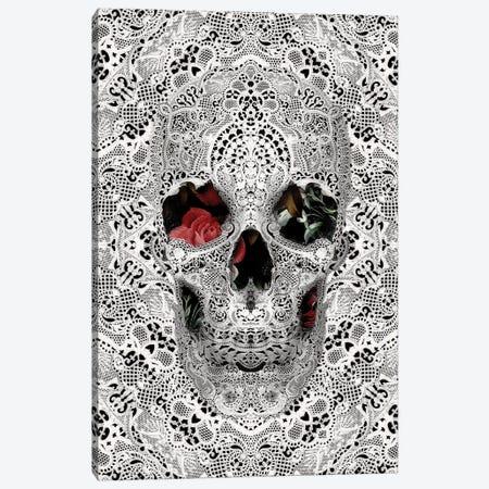 Lace Skull II Canvas Print #AGC66} by Ali Gulec Canvas Art